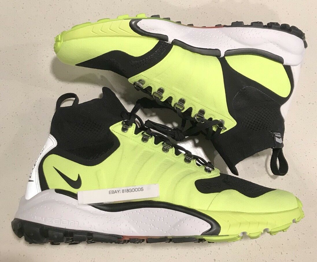 NEW Nike Zoom Talaria MID FLYKNIT OUTDOOR RUNNING TRAIL SHOES Men 9.5 $225msrp