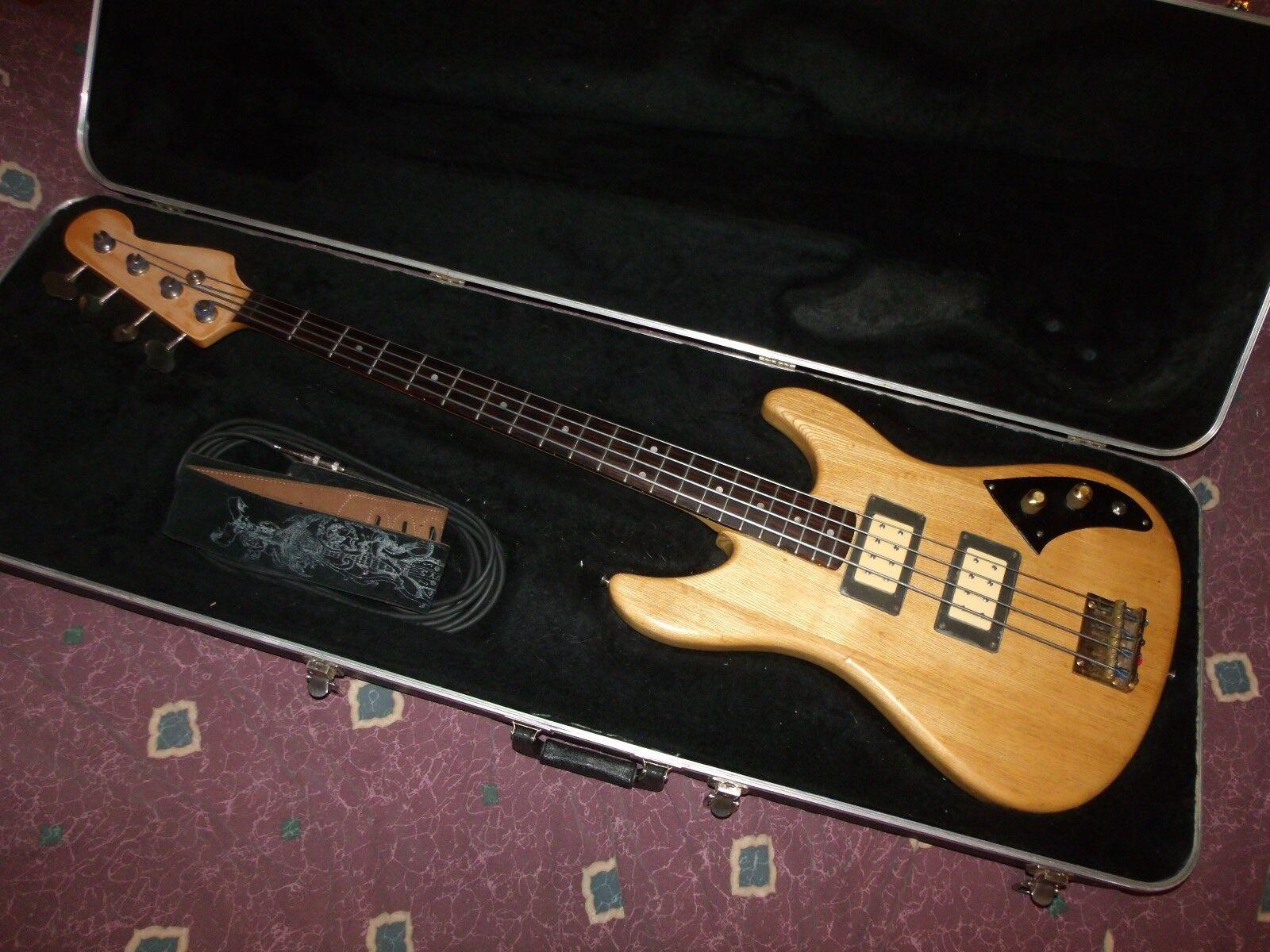 1980 Schecter USA E-Bass S n B0150 Paf Dimarzios Brasilien Platine Rvrse Tuner