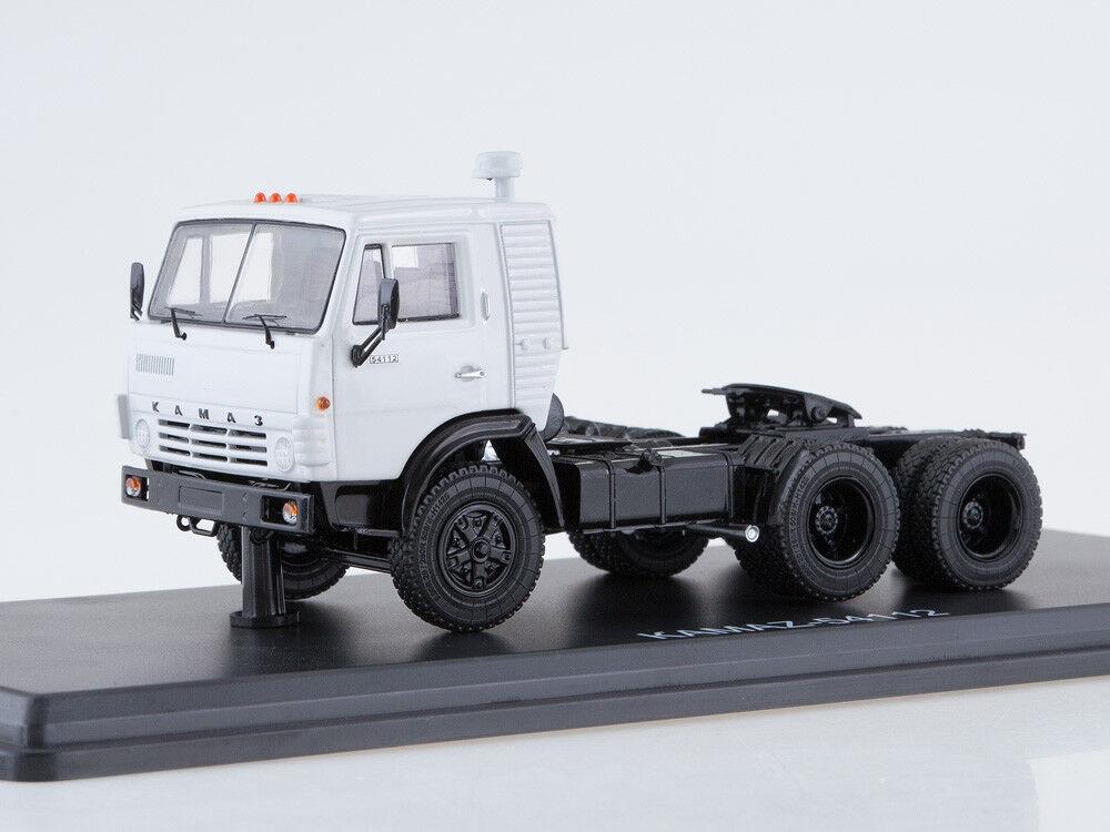 Scale Modelll truck 1 43 KAMAZ-54112 tractor unit