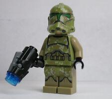 41st Kashyyk Clone Trooper Star Wars Camo Green 75142 75035 LEGO Minifigure