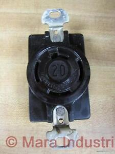 Hubbell HBL7210B Twist Lock Receptacle L220