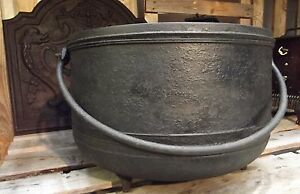 antique cauldron cast fireplace handle wrought iron window box art popular