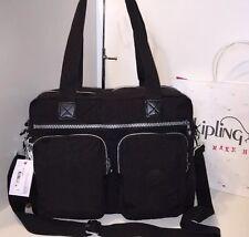 NWT $134 KipLing Sasha Travel Tote Carry-On Crossbody Shoulder SL3010-001 Black