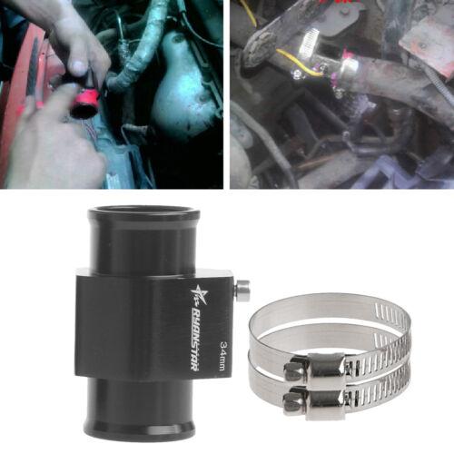 34mm Température de l/'eau Pipe Mixte Capteur Jauge Radiateur Adaptateur de tuyau