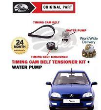 FOR CITROEN SAXO VTS 75BHP 1.4 8V 1996-2003 NEW TIMING CAM BELT KIT + WATER PUMP