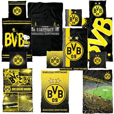 Borussia Dortmund BVB Bettw/äsche//Biber Bettw/äsche ** Gelbe Wand **