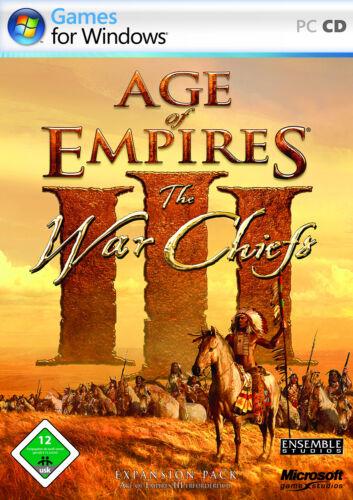 1 von 1 - Age Of Empires III: The WarChiefs (PC, 2006)