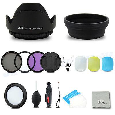 JJC Essential accessory Kit for Nikon D5500 D5300 D5200 D3400 D3300+18-55mm Lens