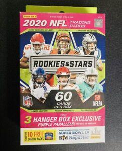 2020 NFL Panini Rookies and Stars New Sealed Hanger Opti chrome Prizm