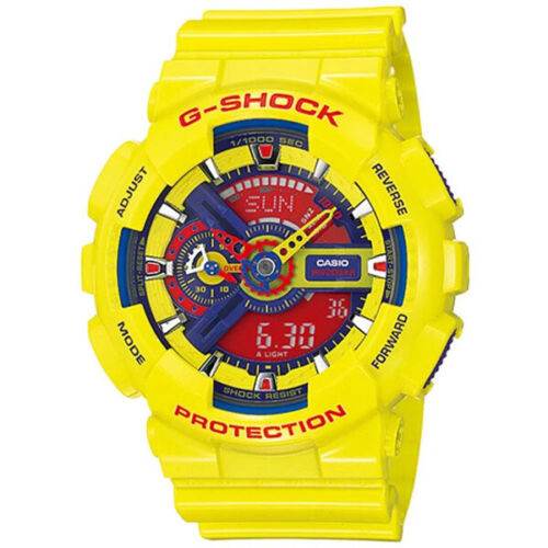 Details About Casio G Shock Hyper Colors Limited Edition Yellow Watch Gshock Ga 110a 9