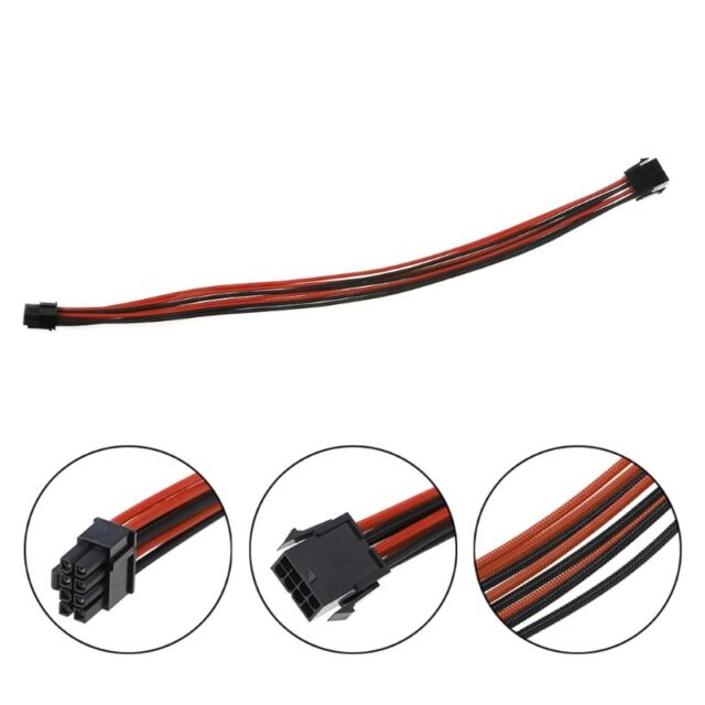 multiple quantities 6-pin black Male ATX connector for PCI-E extension cable