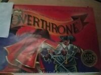 Overthrone - R & R Games Board Game