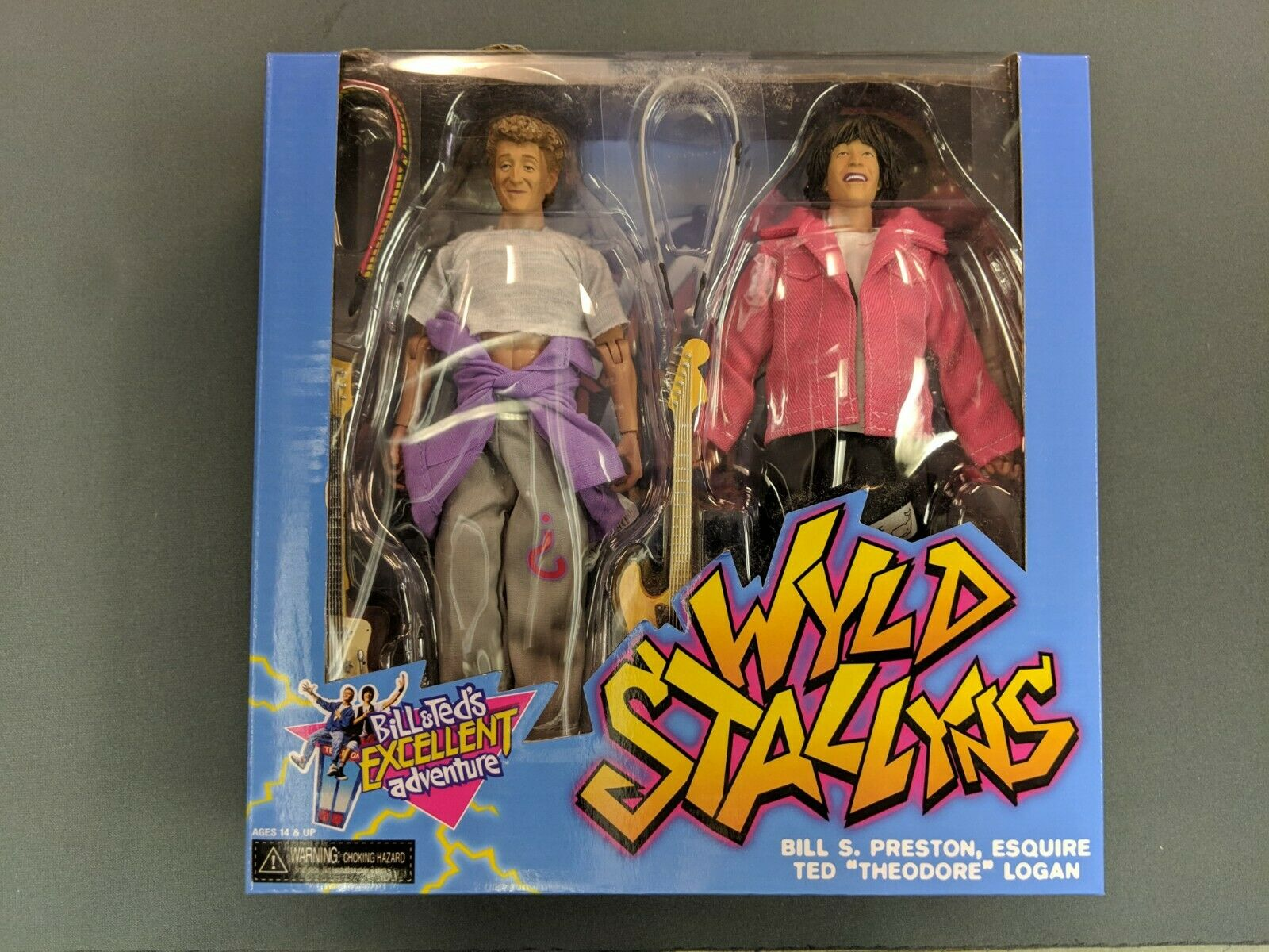 BILL & TED'S TED'S TED'S EXCELLENT ADVENTURE - WYLD STALLYNS - 8  azione cifra BOX SET 2016 dce582