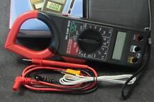 Dt266c Handheld Digital Ac Voltage Amp Resistance Clamp On Meter Multimeter New