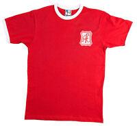 Retro Aberdeen Football T Shirt New Sizes S-XXXL Embroidered Logo