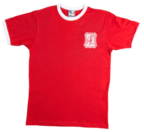Aberdeen Football T Chemise Neuf Tailles S-XXXL Logo Brodé