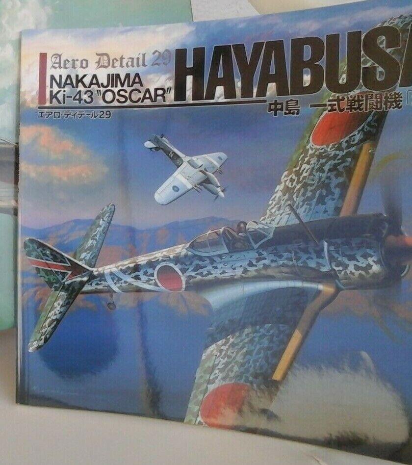 Aero Detail n29-NAKAJIMA ki-43 Oscar Hayabusa-by Shigeru Nohara-Model Graphix PB