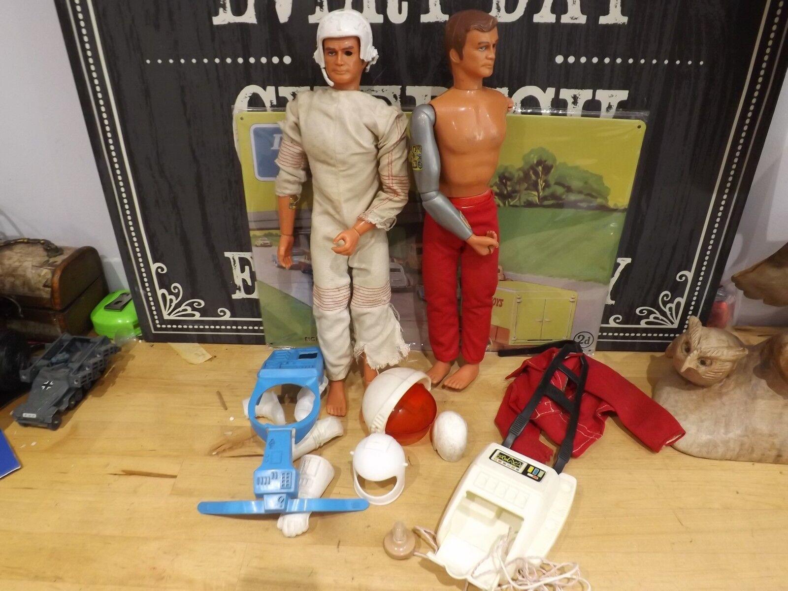Six Million Dollar Man Action Figure Lee Majors Bionic Man 1975 job lot kenner
