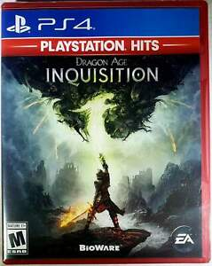 Dragon Age Inquisition PS4 (Sony PlayStation 4, 2014) Brand New - Region Free