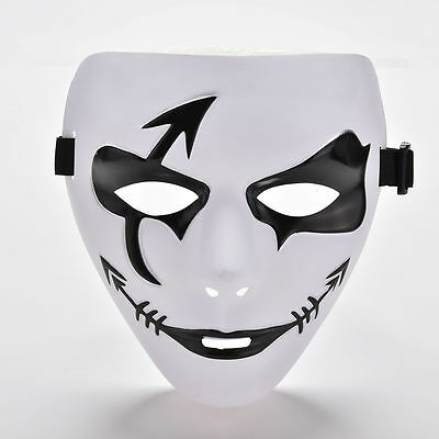 Fashion Dancer Mask Trot Fancy Cool Creepy Halloween Ghost Costume Theater Masks