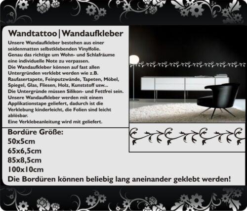 Wandtattoo Exklusive Bordüre FZ1411