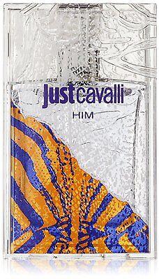 Roberto Cavalli Just Cavalli him 30ml Eau de Toilette Spray NEW/SEALED