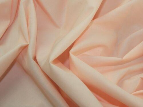 ES005PC-M Extra Wide Plain Polycotton Dress Fabric