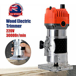 800W-Electric-1-4-039-039-Woodworking-Trimmer-Hand-Laminate-Tool-Router-30000RPM-E