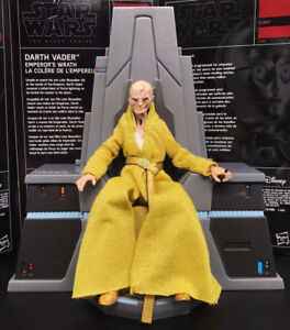 6-034-Loose-Action-Figure-Star-Wars-Black-Series-Last-Jedi-Snoke-With-Throne-Stand