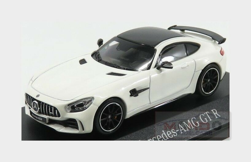 Mercedes Benz Gt-R Amg 2017 Designo Diamond Weiß Bright NOREV 1 43 B66960442