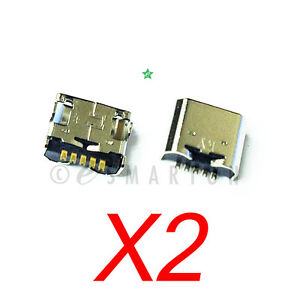 2X-LG-G-Pad-VK700-10-1-USB-Charger-Charging-Port-Micro-Dock-Connector