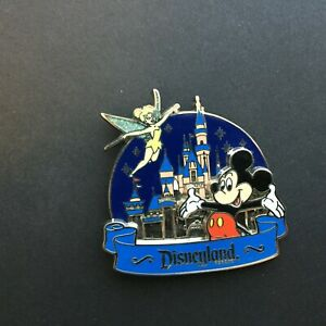 DLR-Sleeping-Beauty-Castle-Mickey-and-Tinker-Bell-Disney-Pin-58623