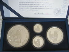 1996 SILVER PROOF KILO KOOKABURRA SET