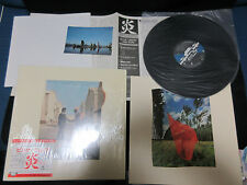 Pink Floyd Wish You Were Here Japan Reissue Vinyl LP w Poster Postcard 25AP 1258