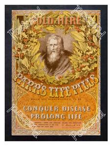 Historic-Parr-039-s-Life-Pills-Advertising-Postcard
