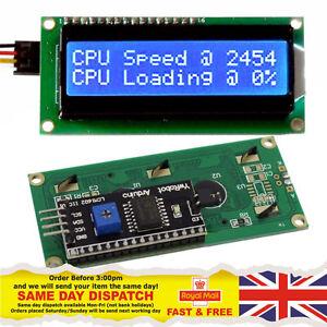 Con-sin-IIC-I2C-TWI-1602-Serial-retroiluminacion-LCD-Modulo-ywrobot-para-Arduino