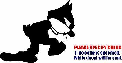 "Felix the Cat Decal Sticker JDM Funny Cartoon Vinyl Car Window Bumper Truck 6/"""