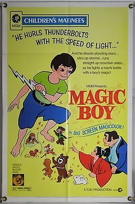 MAGIC BOY FF ORIG 1SH MOVIE POSTER EARLY ANIME ANIMATION TOEI RR73 (1959)