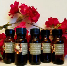 Manly Man 1/2 oz Premium Scented Burning Oil by Living Aroma