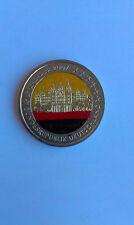 GERMANIA 2 EURO 2007 COMMEMMORATIVE SMALTATE COLORATE
