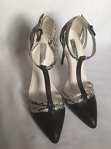 New-Miss-Selfridge-Geneva-Black-High-Heel-Shoes-Size-UK-5-38