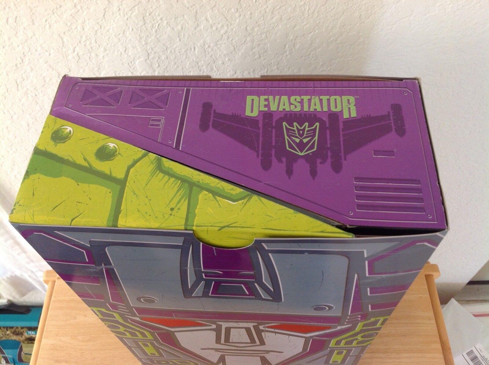 Transformers Transformers Transformers Generations SDCC 2015 Exclusive Devastator Set Combiner Wars MIB 1d4061