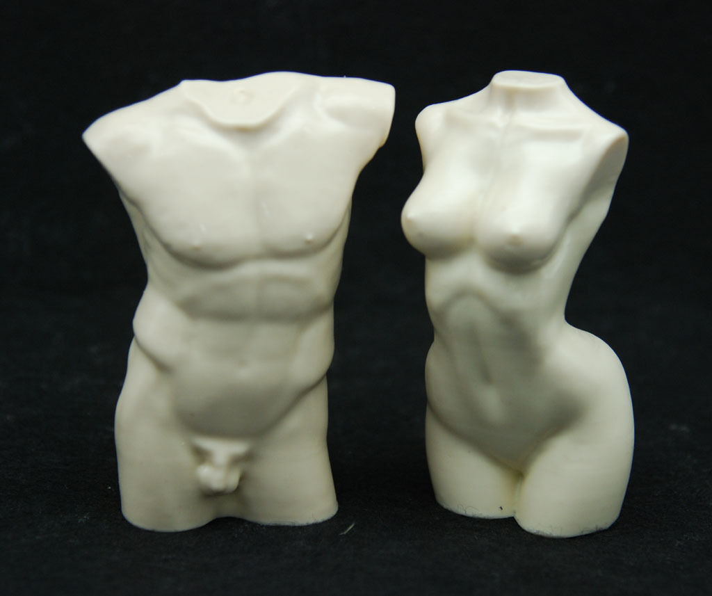 3D Body  2, Silicone Mold Chocolate Polymer Clay Jewelry Soap Melting Wax Resin