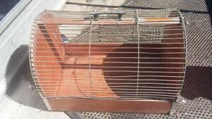 Vintage-Canary-Cage-birds-transport-house-garden-hobbie-shed-old-tools-workshop