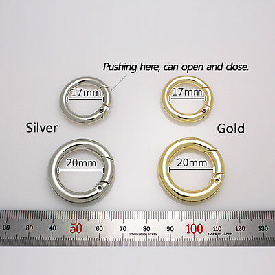 handbag O-rings accessories orings gold silver antique-gold stuffs for bags