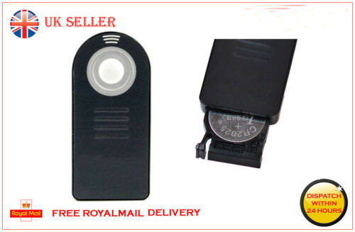 Control remoto inalámbrico IR Para NIKON como MLL3 D3300 D3400 D5000 D5500 D40 D40X