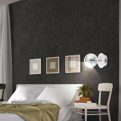 LED Plafond Mur Spot Rétro Chrome Bille Lampe Mobile la Vie Chambre