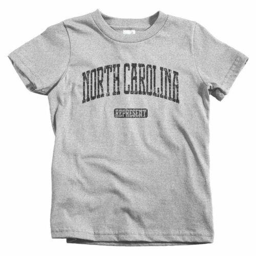 Charlotte Gift Baby Toddler Youth Tee North Carolina Represent Kids T-shirt