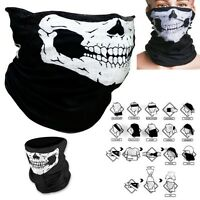 3 X Skeleton Skull Ski Face Mask Cycling Motorcycle Mask Bandana Cod Ghost