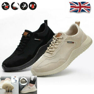 MENS WOMENS SAFETY SHOES STEEL TOE CAP
